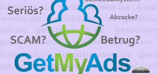 GetMyAds – Betrug oder seriös?